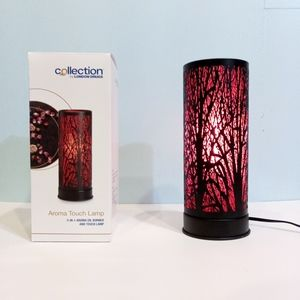 🆕 Aroma Touch Lamp 💕 Red/Black